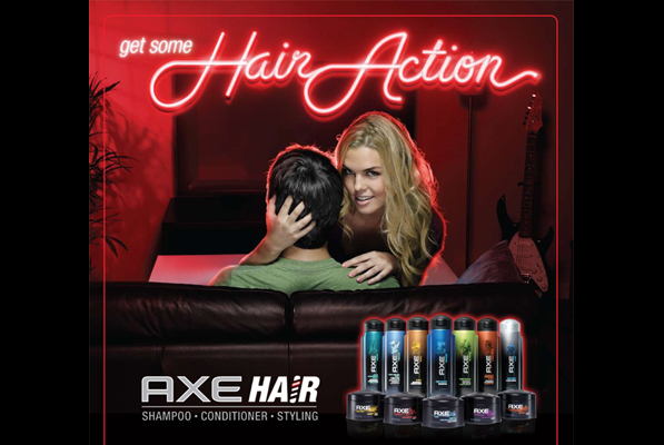 AXE - Get Some Hair Action